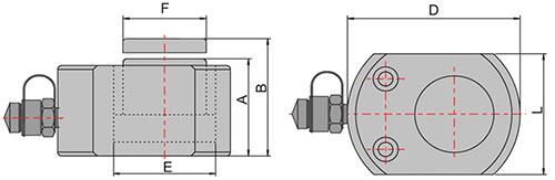 схема домкрата низкого гидравлического ДН5